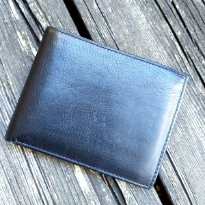 Kenneth Cole New York Men's Black Leather Wallet